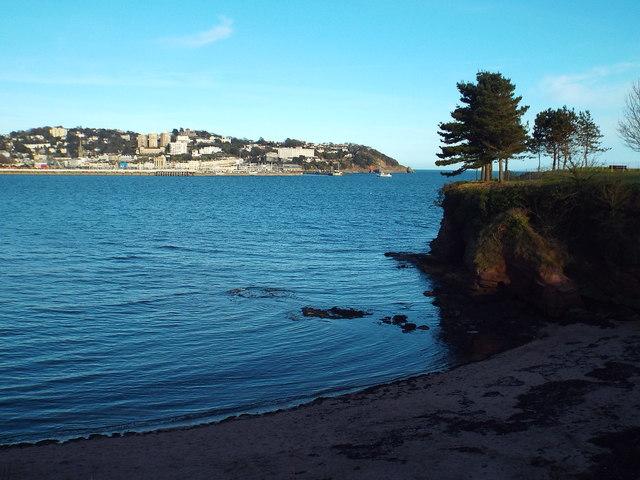 Corbyn's Beach and Corbyn's Head, Torquay
