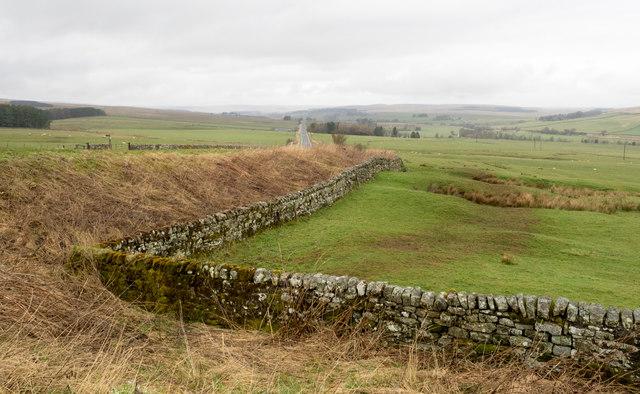 Field corner beside A68
