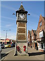 TF6320 : Gaywood WW1 Memorial Clock Tower by Adrian S Pye
