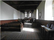 TQ9963 : Interior of St Mary's Church, Luddenham by Marathon