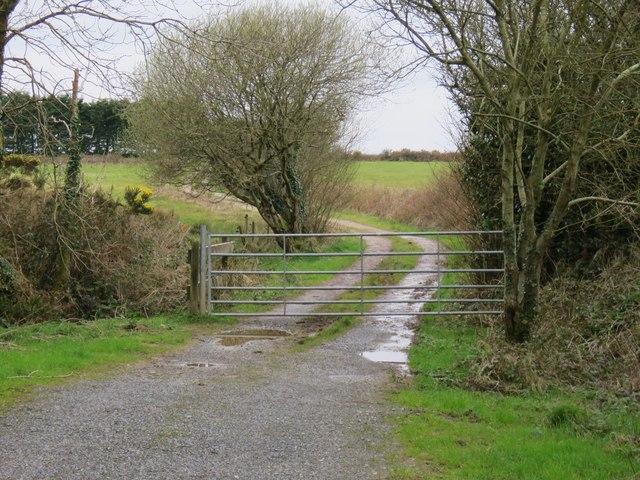 Farm track near Knocknalurgan