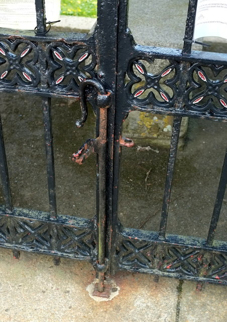 Gate drop bolt, St Pinnock