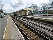 TQ2575 : Wandsworth Town station by Marathon