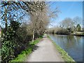 TQ1784 : Perivale, towpath by Mike Faherty