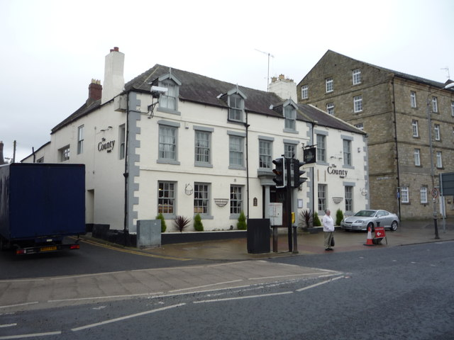 The County Hotel Hexham C Jthomas Cc By Sa 2 0 Geograph Britain