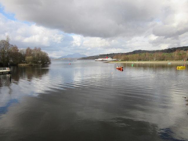 Shores of Loch Lomond, Balloch