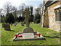 TF7213 : Pentney War Memorial slightly on the huh! by Adrian S Pye