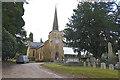 SU9868 : Christ Church, Virginia Water by Alan Hunt