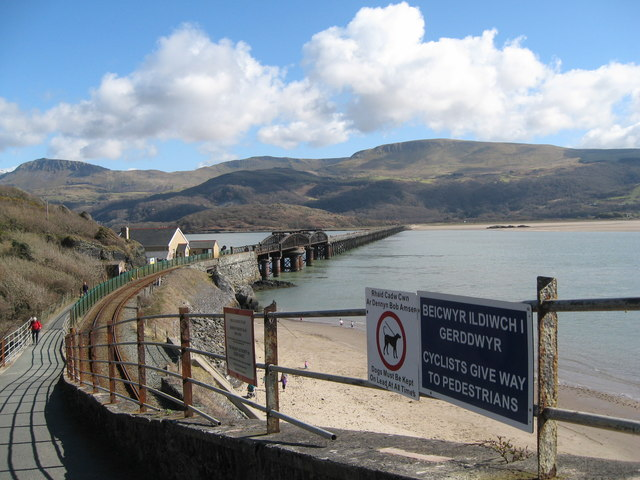 Another view-Barmouth Bridge, Gwynedd
