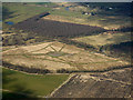 NS4465 : Linwood Moss from the air by Thomas Nugent