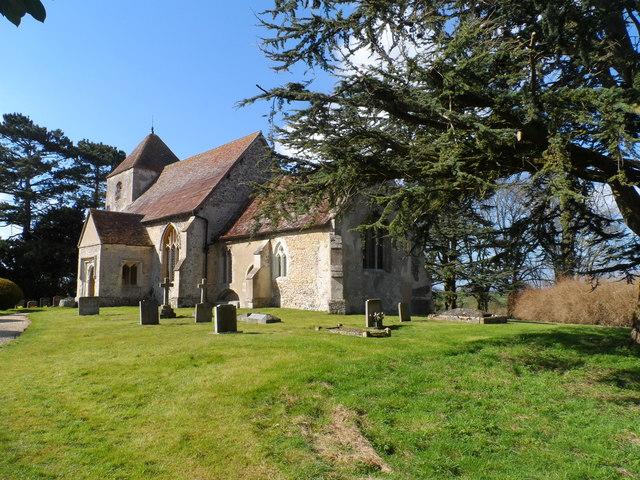 St Nicholas' church, Little Chishill