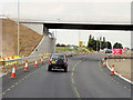 SK6875 : Northbound A1, New Flyover at Elkersley by David Dixon