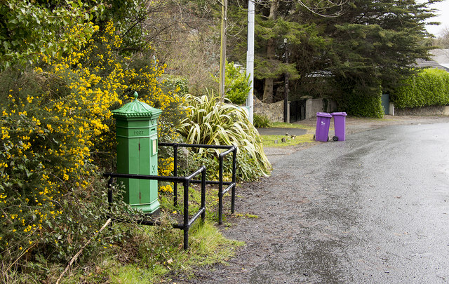 Victorian Postbox, Rocky Valley