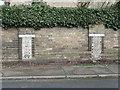 TL8741 : Mosaics (2/2), Croft Road, Sudbury by Humphrey Bolton