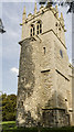 SK9246 : Tower and Stair-Turret, All Saints' church, Hough-on-The-Hill by Julian P Guffogg