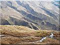 NN3133 : Grooved mountain slope by Trevor Littlewood