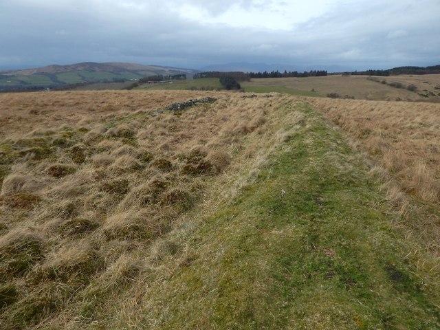 Old boundary
