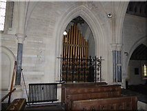 SU3981 : Inside St Mary, Fawley (vii) by Basher Eyre