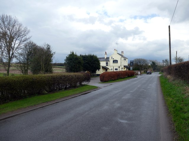 Approaching the Fox and Hounds