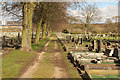 SK9870 : Canwick Road New Cemetery by Richard Croft