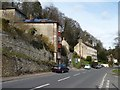 SO8802 : Four storey buildings on the A419, Chalford by Christine Johnstone
