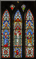 SK9443 : Stained glass window, St Wilfred's church, Honington by Julian P Guffogg