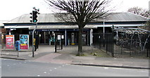 SO9322 : Western entrance to Cheltenham Spa Railway Station by Jaggery