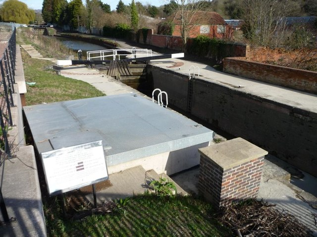 Lockside turbine housing, Dudbridge, Stroudwater Navigation