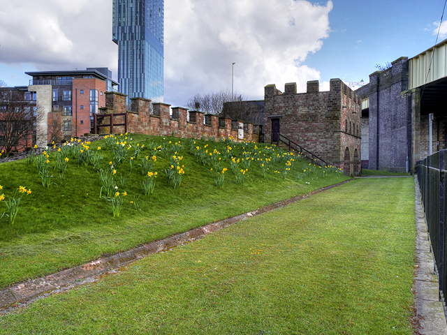 Roman Ramparts and Gate Tower, Castlefield