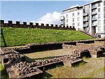 SJ8397 : Roman Castlefield, The Granary by David Dixon