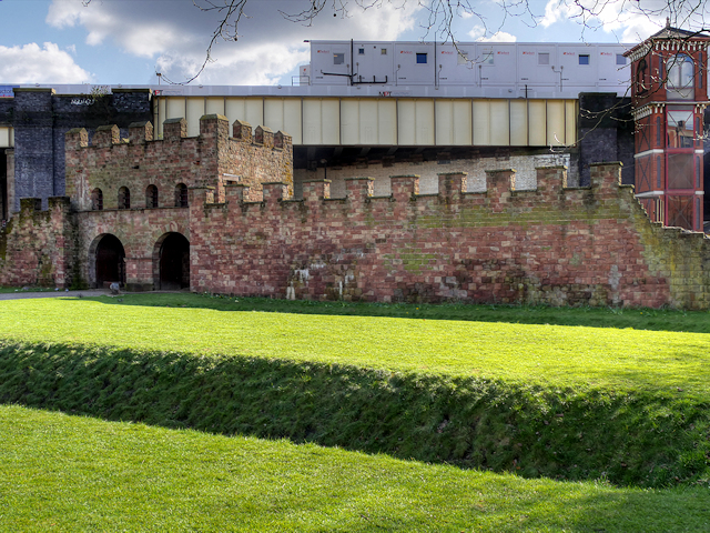 North Gate Rampart and Wall, Castlefield