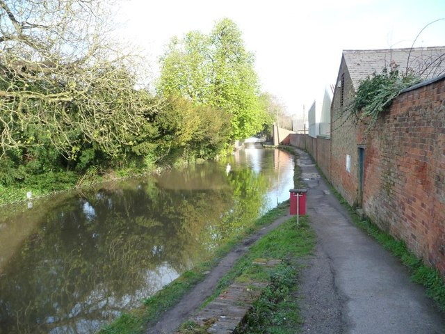 The Stroudwater Navigation at Ford's Wharf, Ryeford