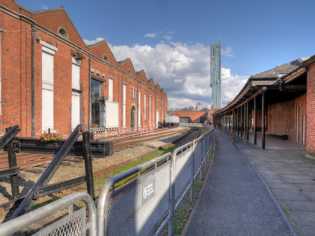 Former Liverpool Road Station