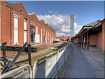 SJ8297 : Former Liverpool Road Station by David Dixon