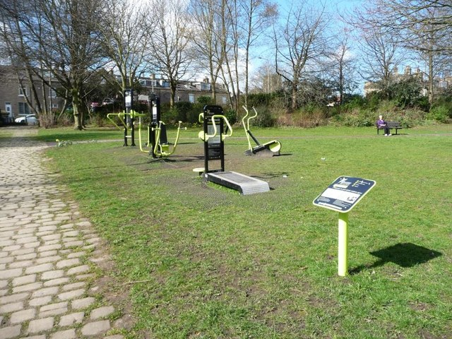 Outdoor gym, Shipley Central Park