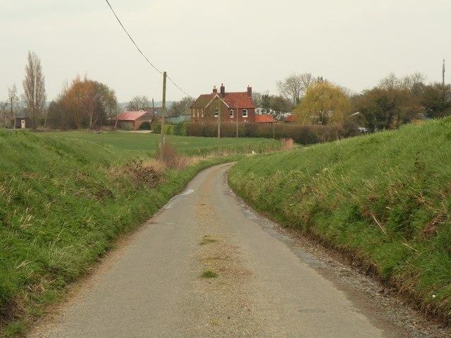 The view towards Swingleton Hill