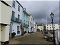 SX8751 : Cobbled waterfront at Bayards Cove, Dartmouth by Ruth Sharville