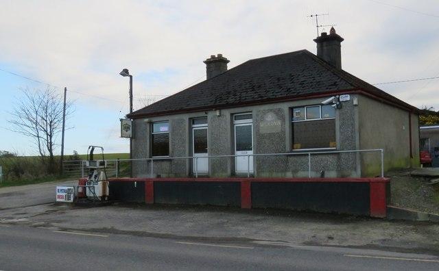 Small rural petrol station