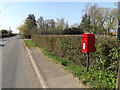 TM1854 : B1077 The Green & Debenham Road Postbox by Adrian Cable