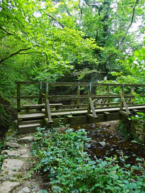Foot Bridge over Mill Beck