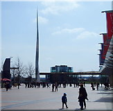 TQ3979 : Peninsula Square, North Greenwich, SE10 by David Hallam-Jones