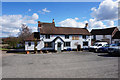 SJ4304 : Red Lion at Longden Common by Ian S