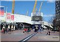TQ3979 : Peninsula Square, North Greenwich, London, SE10 by David Hallam-Jones