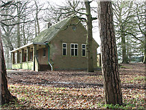 TG1608 : Bungalow beside the GreenAcres woodland burial ground by Evelyn Simak