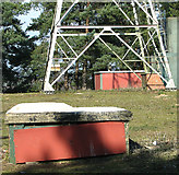 TG1608 : Ventilation shafts emerging from the ground by Evelyn Simak