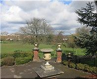 TQ1885 : Pots in the Park by Des Blenkinsopp