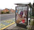 ST3090 : Zero sugar Coca-Cola Cherry advert, Malpas, Newport by Jaggery