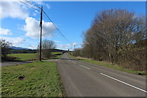 NX6280 : A713 to St John's Town of Dalry by Billy McCrorie