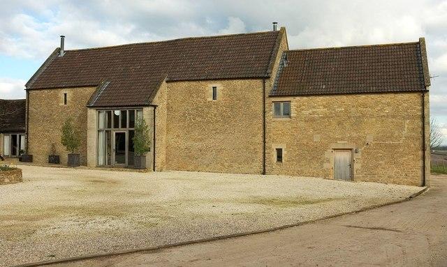Converted barn, Upper Baggridge Farm