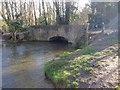 TQ5567 : Bridge carrying Franks Lane over the River Darent, Horton Kirby by Chris Whippet